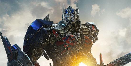 international Transformers 4 poster header