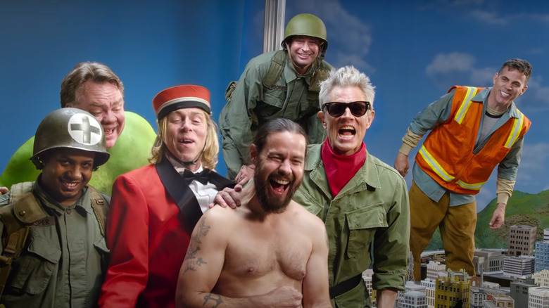 The cast of Jackass Forever