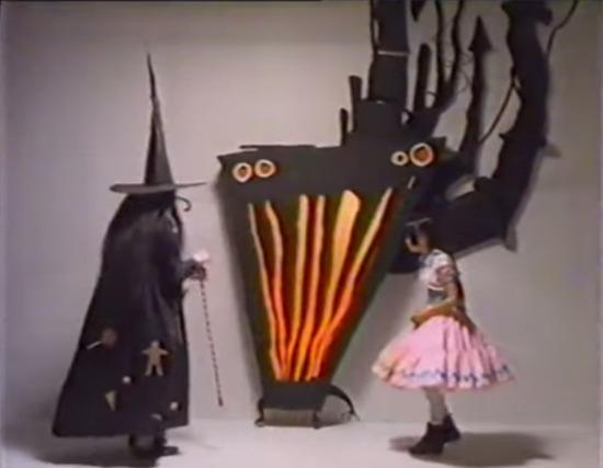 Tim Burton Hansel and Gretel