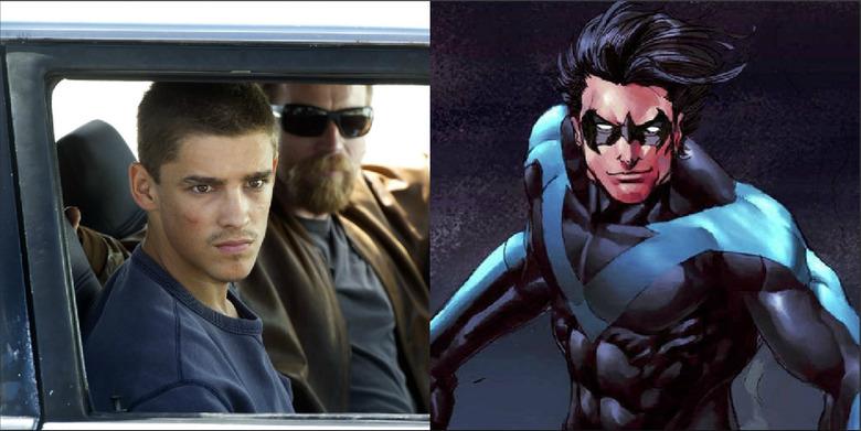 titans tv show dick grayson casting
