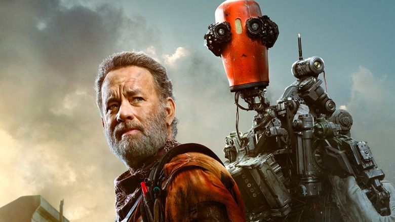 Finch Poster Shows Off Post-Apocalyptic Tom Hanks, His Robot, And His Dog