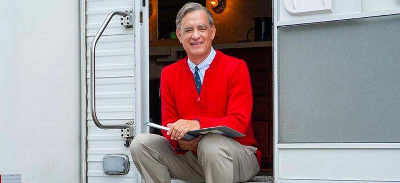 Tom Hanks Mr. Rogers Movie title