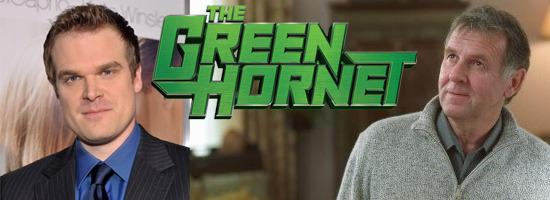 the green hornet casting