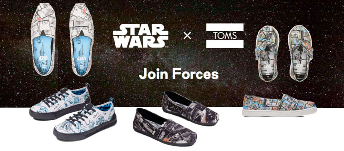 TOMS Star Wars Shoes