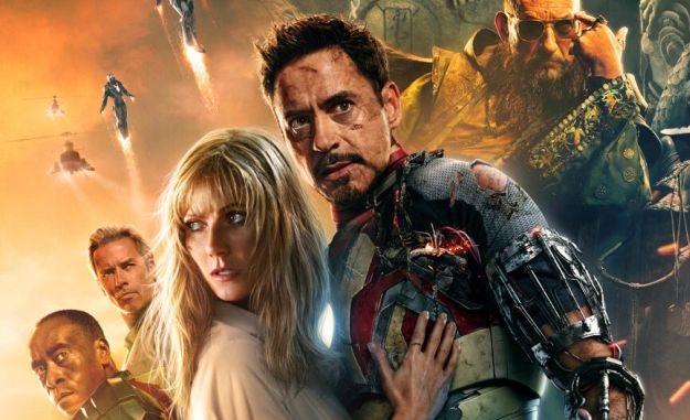 Iron Man 3 IMAX poster (header)