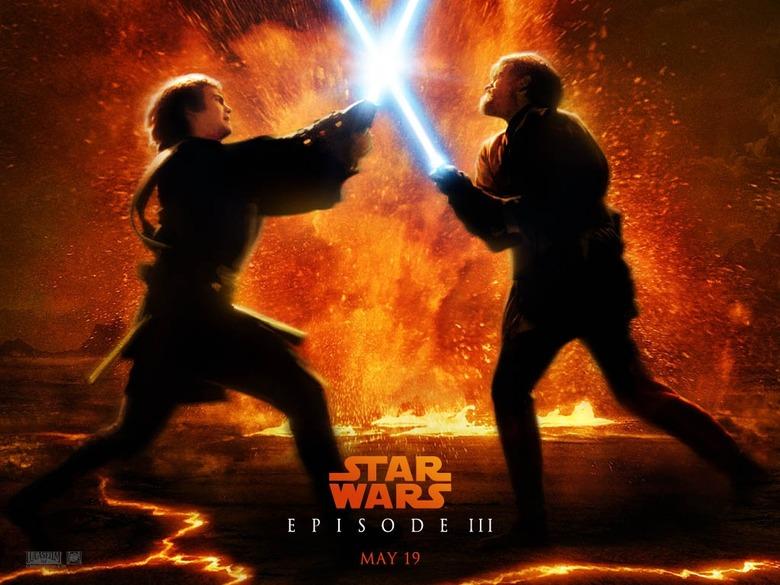 Obi-wan anakin lava in Topher Grace's Star Wars prequel edit