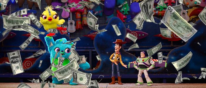Toy Story 4 presales