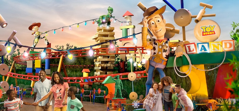 Toy Story Land Easter Eggs