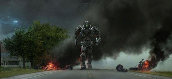 Transformers 4 IMAX poster header