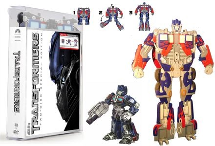 Transformers DVD Exclusives
