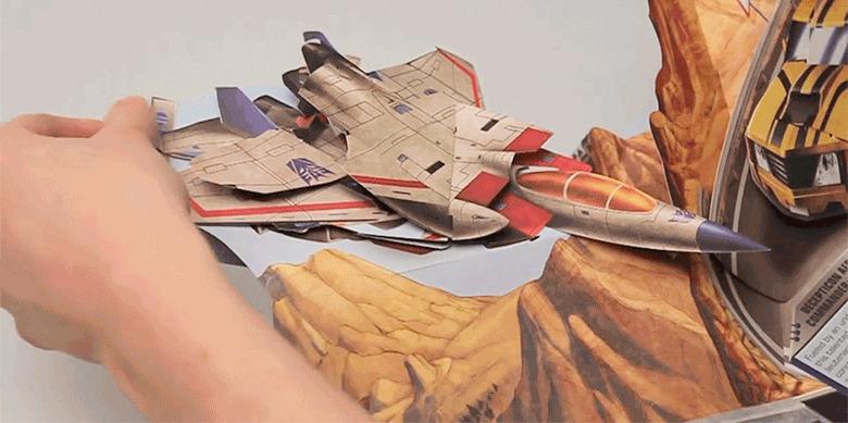 Transformers Pop-Up Book