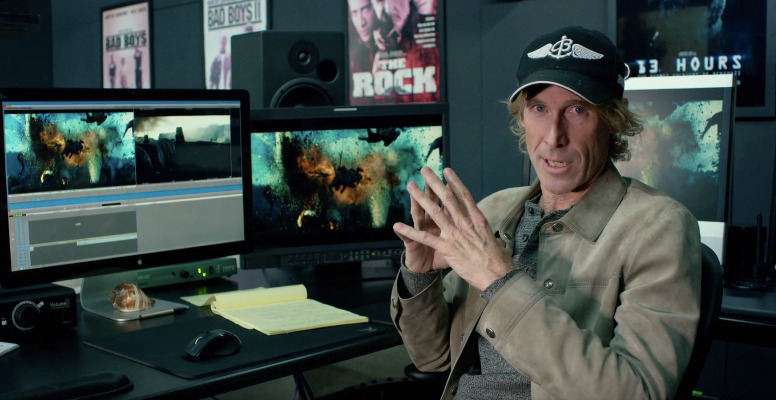 Transformers The Last Knight Featurette - Michael Bay