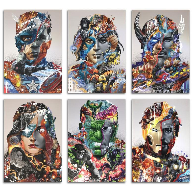 avengers tristan eaton prints