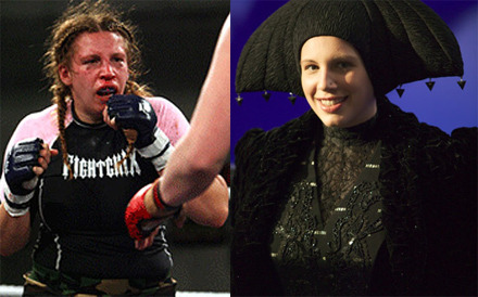 Trivia: George Lucas's Daughter is an MMA Fighter