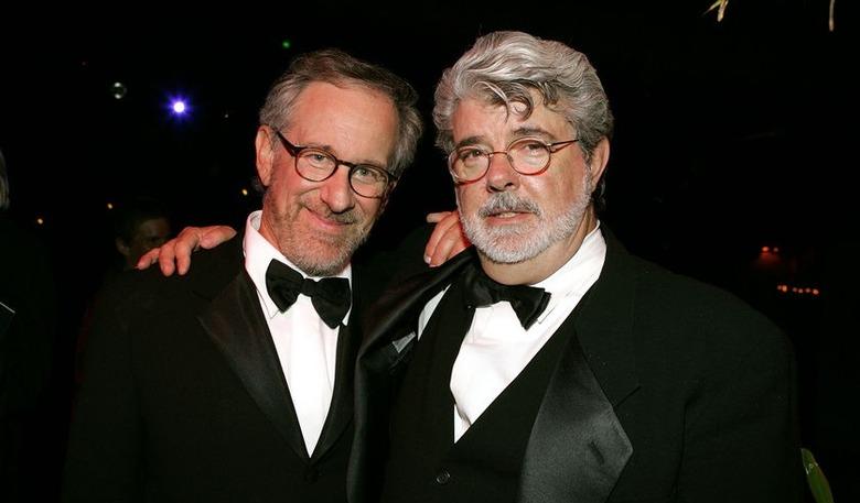 Steven Spielberg and George Lucas are BFFs 4eva