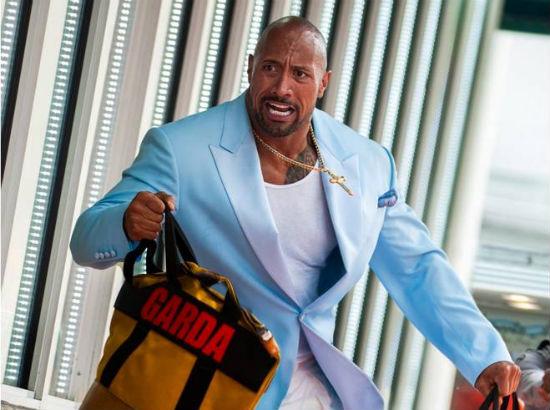 Dwayne Johnson Rock Pain Gain