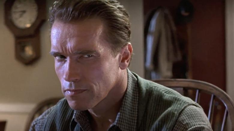 True Lies Arnold Schwarzenegger Stare