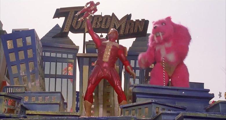 Turbo Man Action Figure