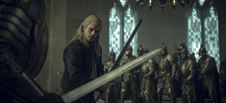 the witcher trailer new
