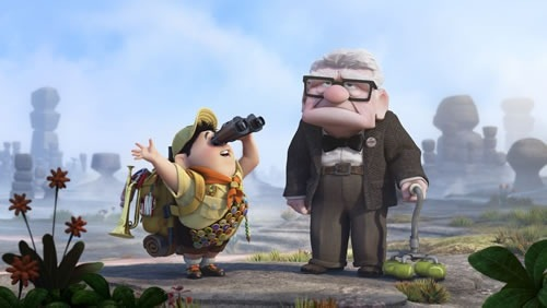 Pixar's up glasses