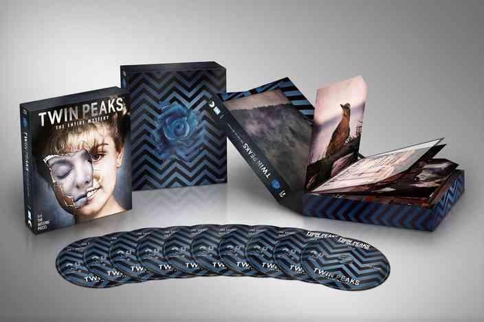 Twin Peaks blu-ray set