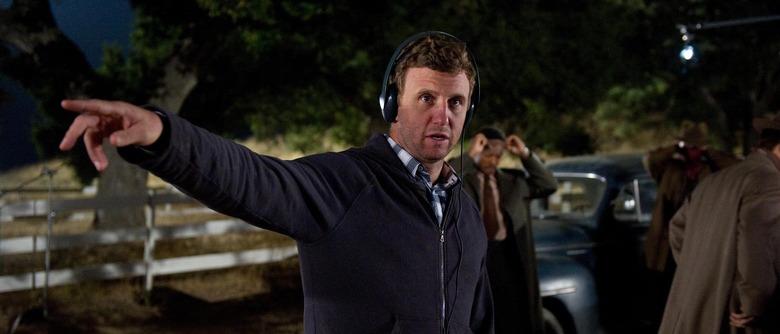Ruben Fleischer directing Gangster Squad