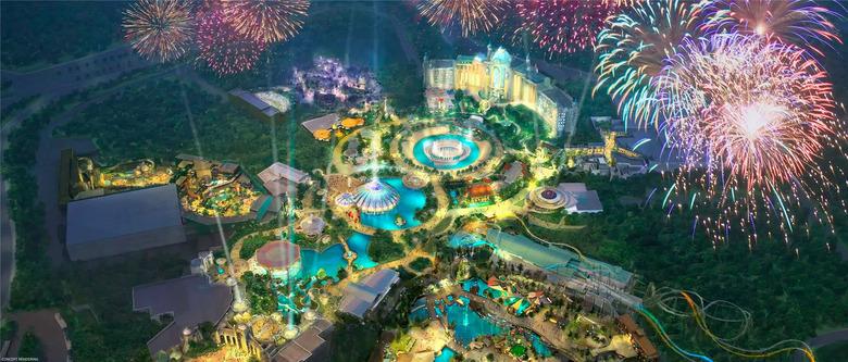 Universal Epic Universe Theme Park