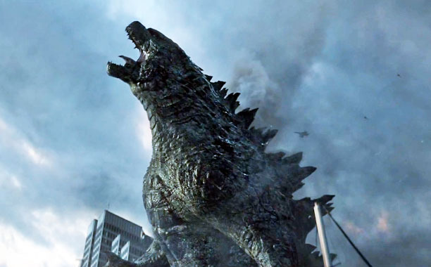 Unused Godzilla concept art