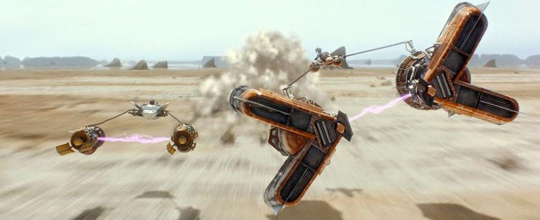 Star Wars Prequels VFX