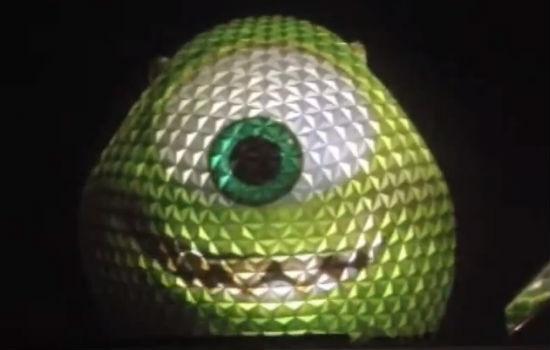 Walt-Disney-World-Mike-Wazowski-Projection