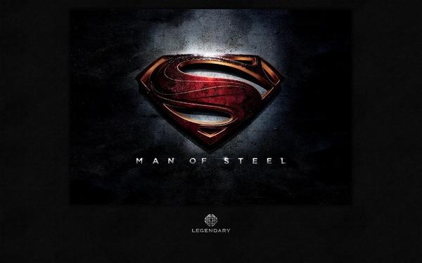 Man of Steel Logo header