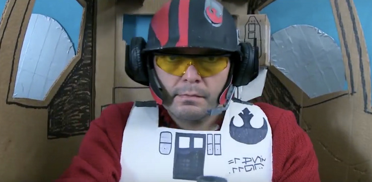 The Force Awakens Trailer Sweded