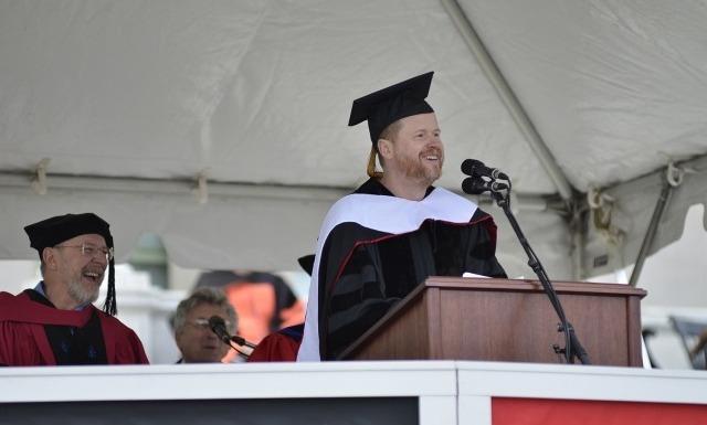 Joss Whedon at Wesleyan University