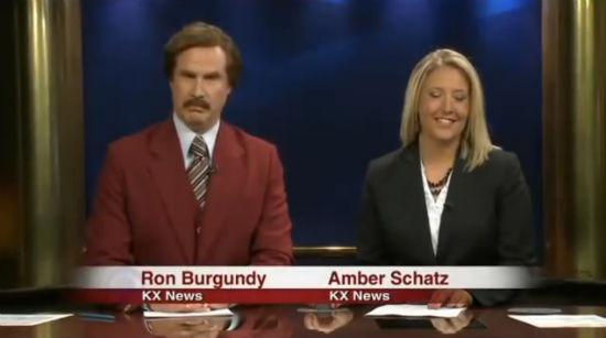 Ron Burgundy North Dakota