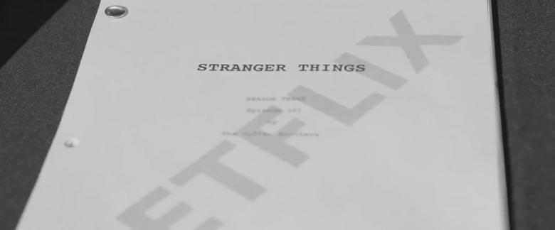 Stranger Things 3 Video