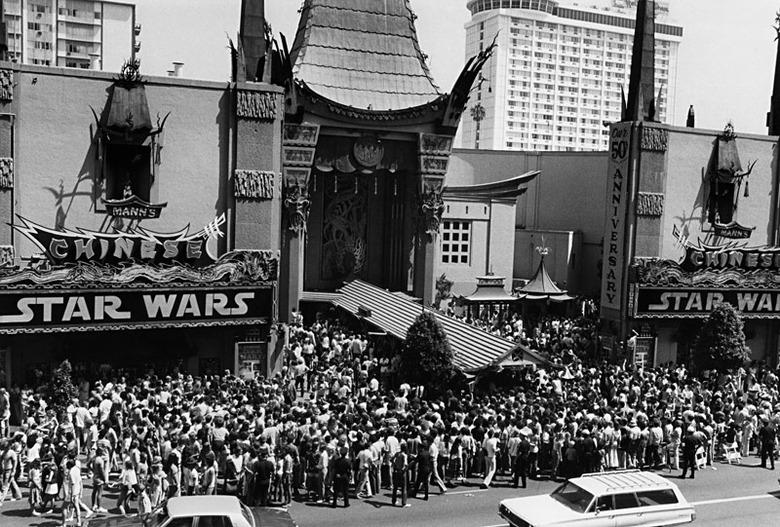 Grauman's Chinese Theatre star wars