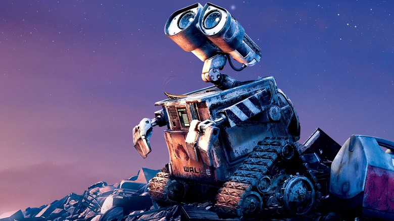 Wall-E stargazing