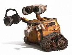 WALL-E Meets Headphones