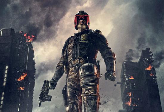 Dredd 3D Poster Header