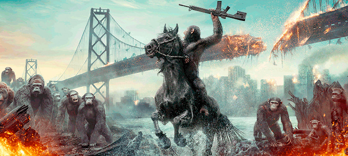 War for the Planet of the Apes first look