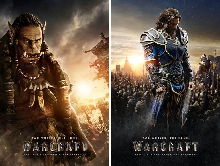 Warcraft comic con posters