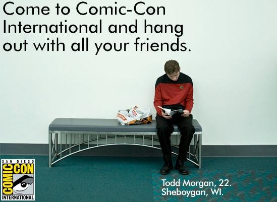 comic con ad