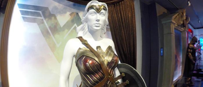 Warner Bros Studio Tour - Justice League exhibit