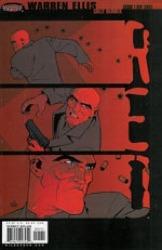 Red Comic Book