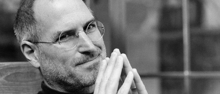 Steve Jobs movie set