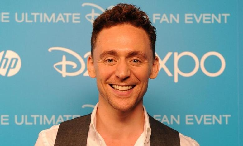 Tom Hiddleston at D23