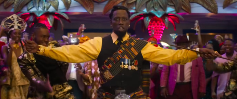 Wesley Snipes Auditioned for Coming to America