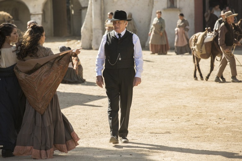 Westworld Episode 5 Photos: The Adversary doctor ford in the park