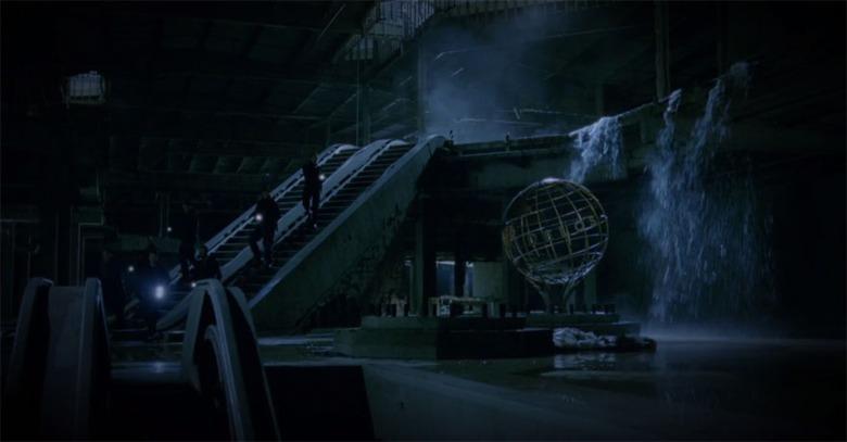 DELOS Westworld location theory