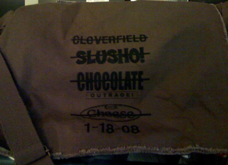 cloverfield crew bag
